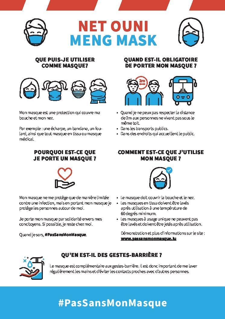 Net ouni meng Mask #PasSansMonMasque