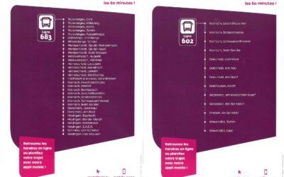 Nouvelles lignes de bus