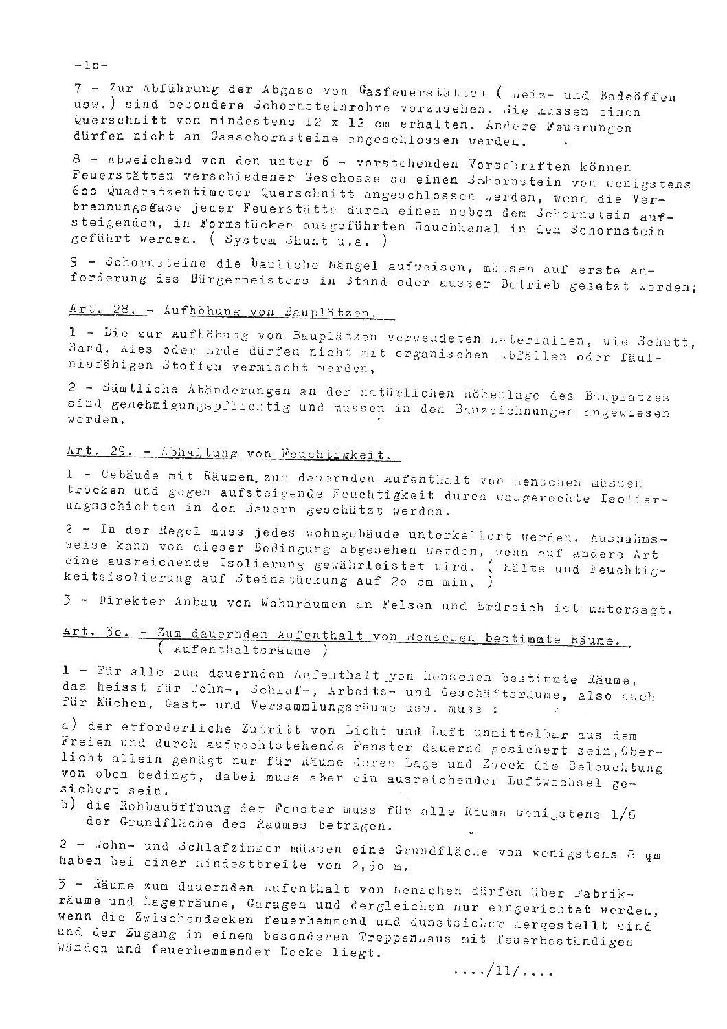 Bautenreglement der Gemeinde Wilwerwiltz - Teil 2