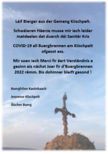 Buergbrennen 2021 ofgesot